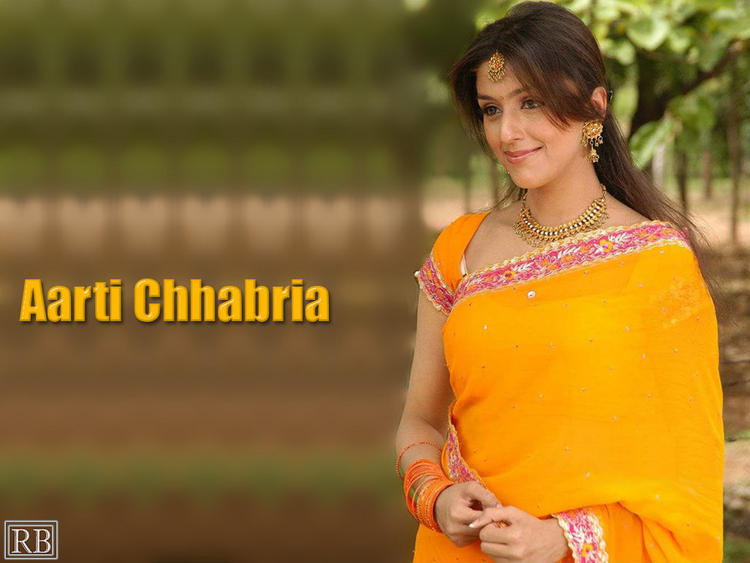 Aarti Chhabria Beauty Wallpaper In Saree