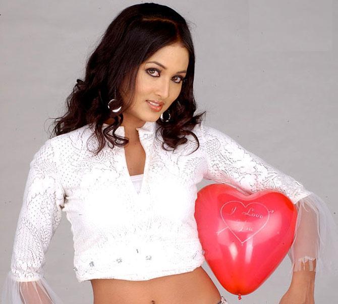 Vidisha Poses With Heart