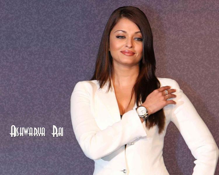 Aishwarya Rai White Blazer Hot Wallpaper