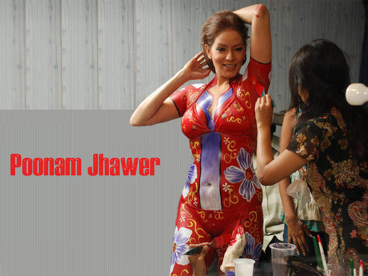 Poonam Jhawer Hot Glamour Wallpaper