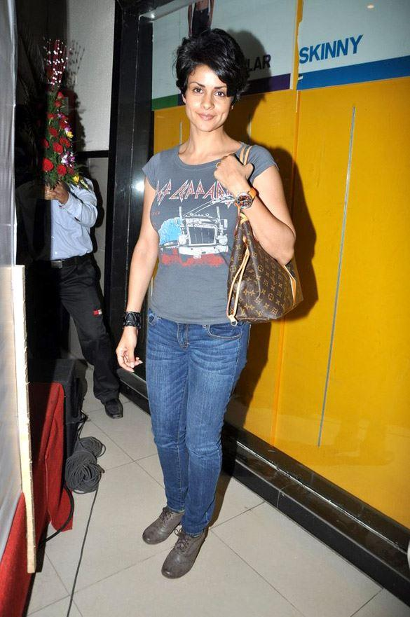 Gul Panag at Fatso Promotional Event at R-Mall