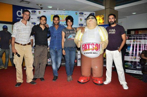 Gul Panag,Purab Kohli,Ranvir Shorey Promote Fatso at R-Mall