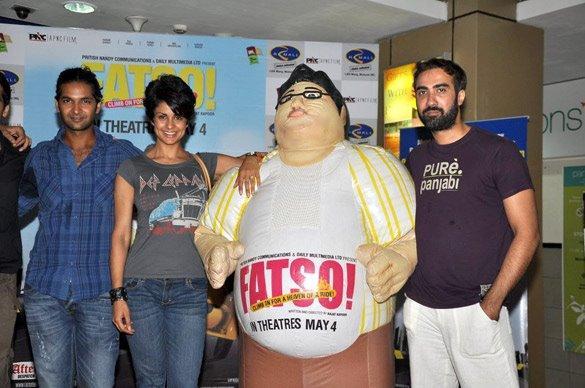 Gul Panag,Ranvir Shorey Promote Fatso at R-Mall