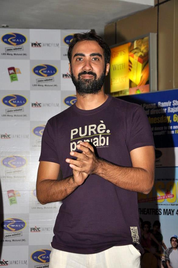 Ranvir Shorey at Fatso Promotional Event at R-Mall