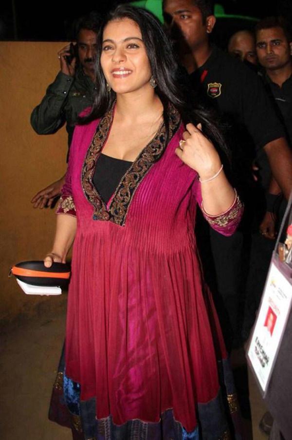 Charming Actress Kajol Devgan Pic
