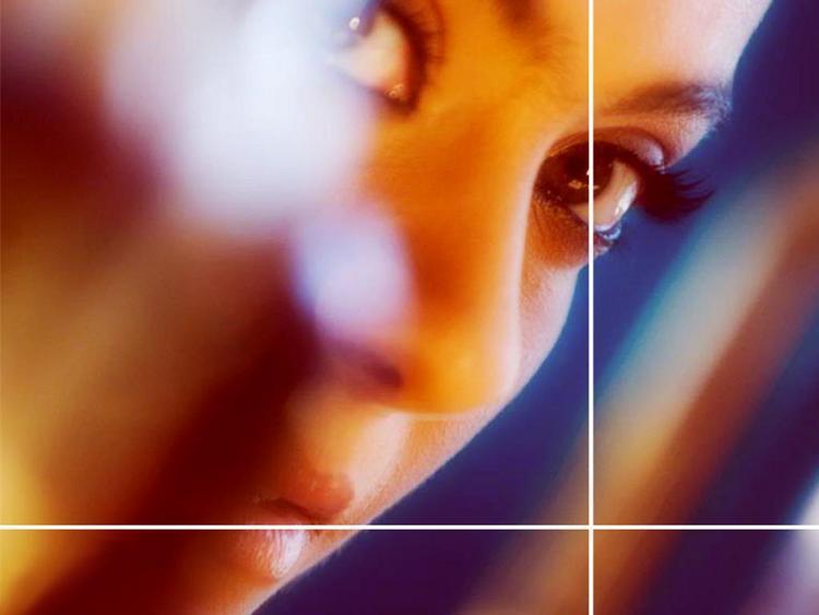 Kajol Devgan Hot Eyes Look Wallpaper