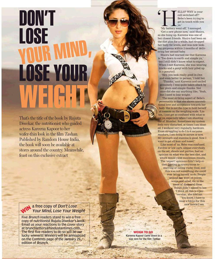 Kareena Kapoor Hot Stylist Magazine Still