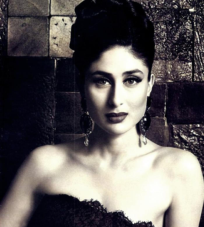 Kareena Kapoor In Strapless Dress Romantic Look Still