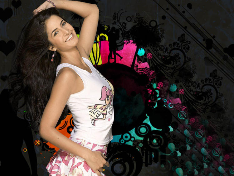 Katrina Kaif Sexy Sweet Wallpaper