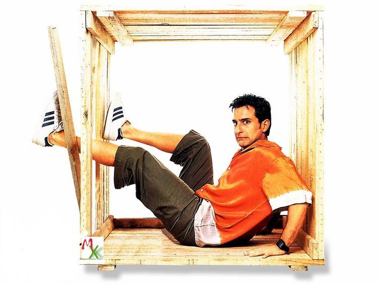 Saif Ali Cute Still in Dil Chahta Hai
