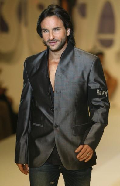 Saif Ali Khan In Black Blazer Walk Still