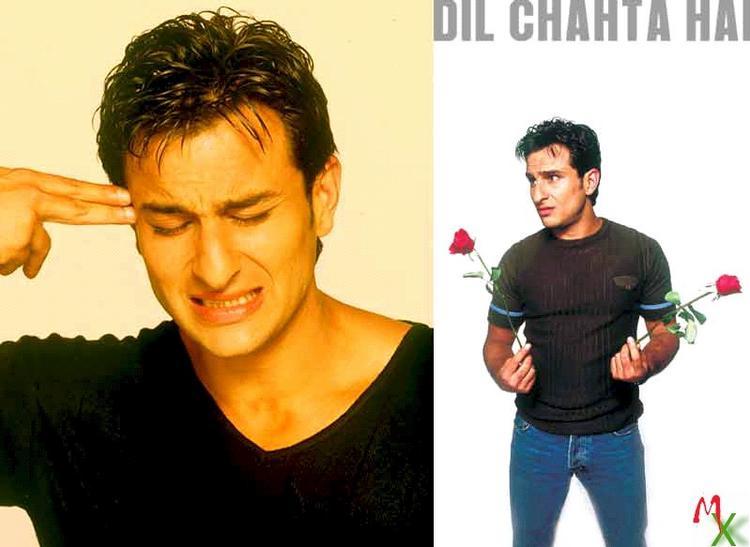 Saif Ali Khan Dil Chahta Hai Movie Wallpaper Pic