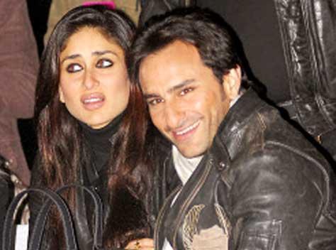 Saif and Kareena Cute Glamour Still