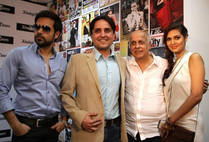 Emraan,Esha and Mahesh at Jannat 2 Press Conference in Dubai