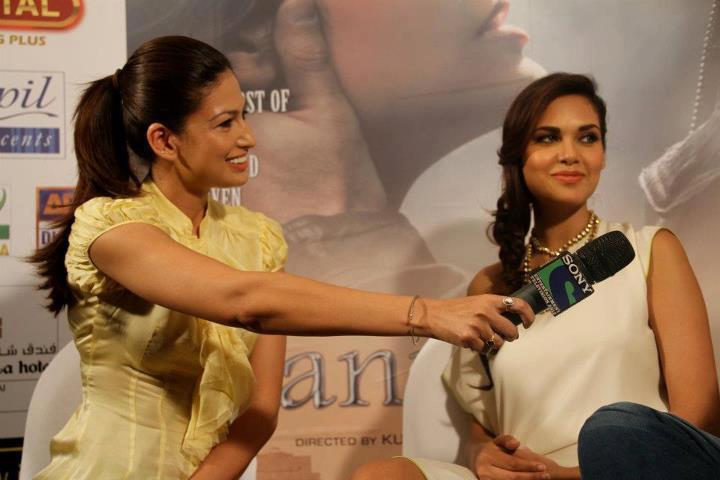 Esha Gupta at Jannat 2 Press Conference Event In Dubai