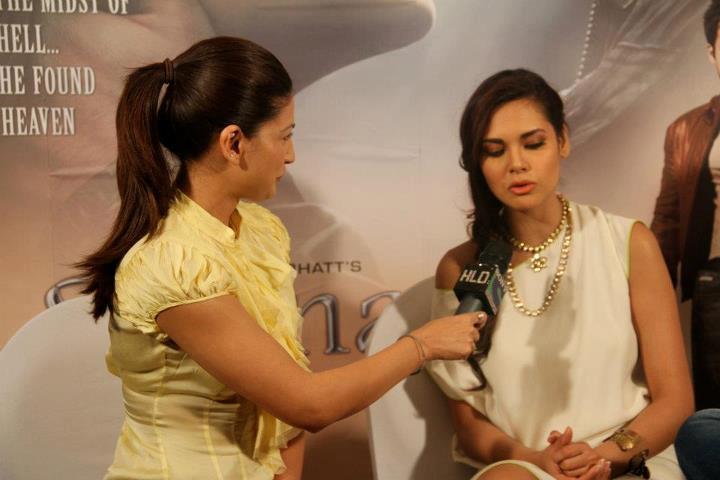 Esha Gupta at Jannat 2 Press Conference Event