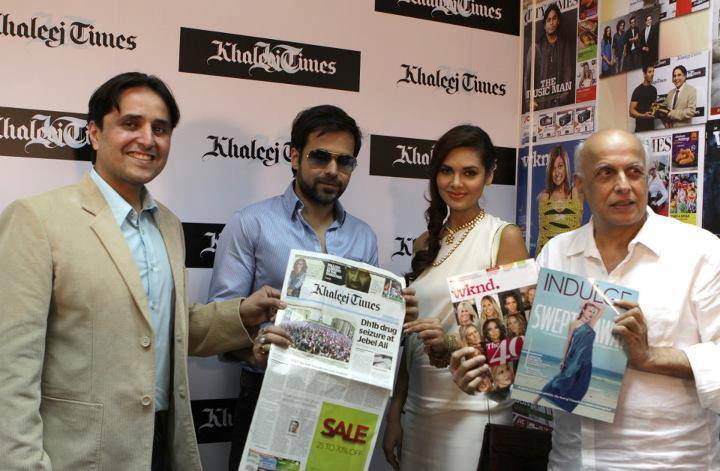 Jannat 2 Press Conference in Dubai