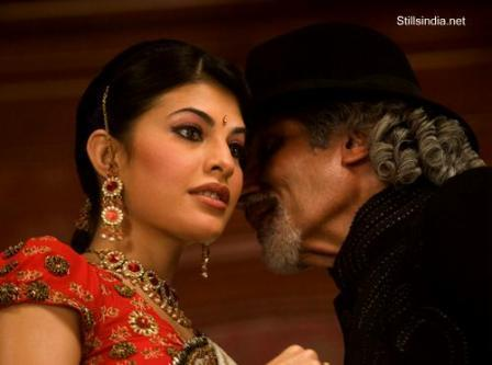 Jacqueline Fernandez and Amitabh In Aladin