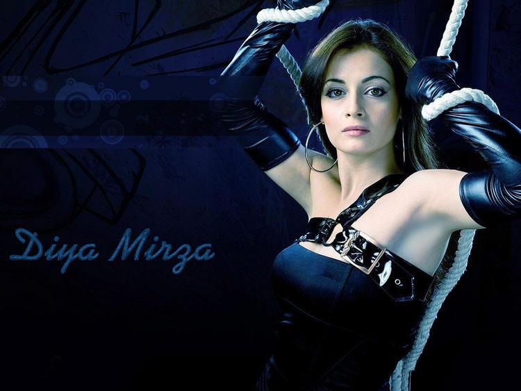 Diya Mirza Latest Hot Wallpaper
