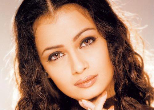 Diya Mirza Sexy Eyes Look Still