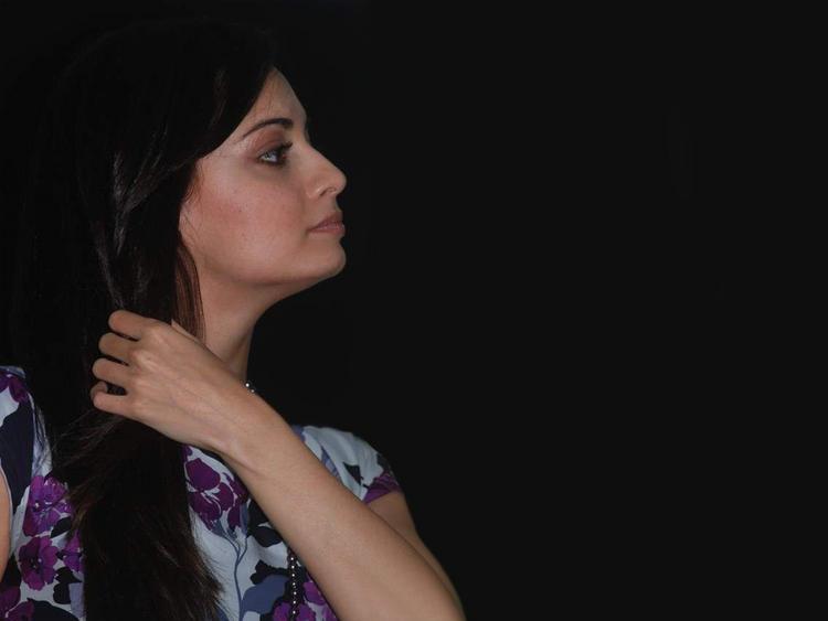 Diya Mirza Side Face Hot Still