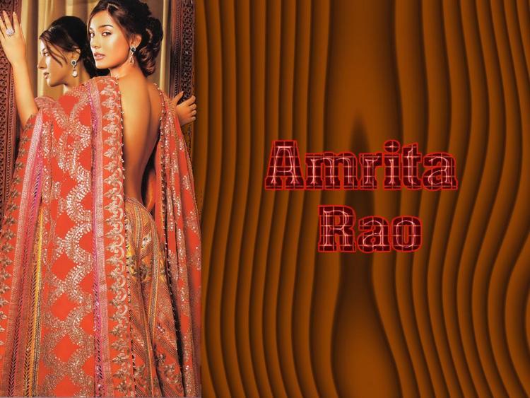 Amrita Rao Sexy Back Bare Still