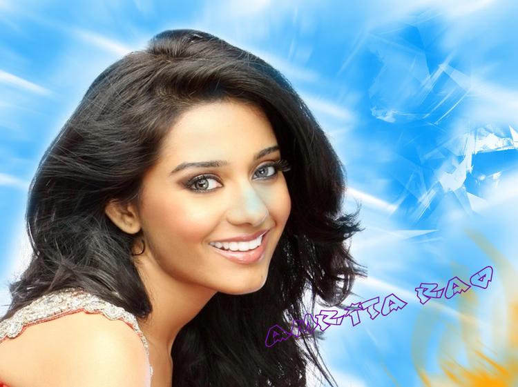 Amrita Rao Sexy Sweet Look Wallpaper