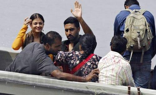 Abhishek Bachchan and Aishwarya Rai Latest Pic