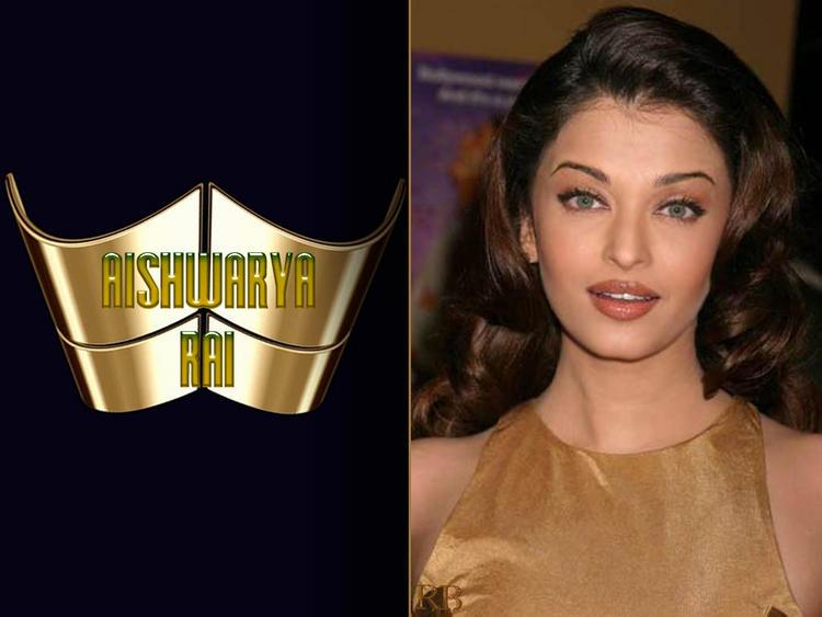 Aishwarya Rai Romantic Face Look Wallpaper