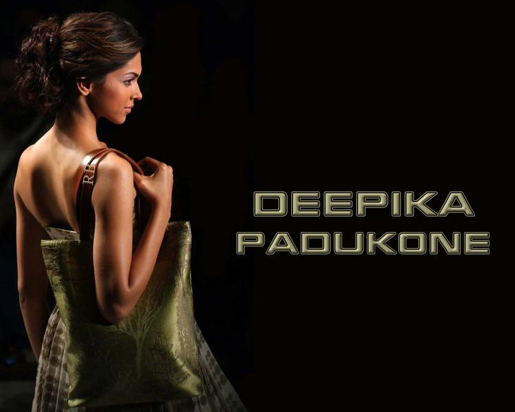 Deepika Padukone Hot Back Exposing Wallpaper