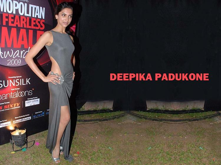 Deepika Padukone Sexy Dress Hot Wallpaper