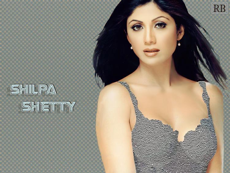 Shilpa Shetty Attractive Fairy Face Wallpaper
