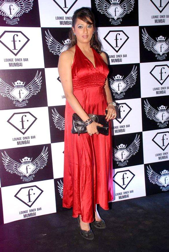 Brinda Parekh at F Bar Launch