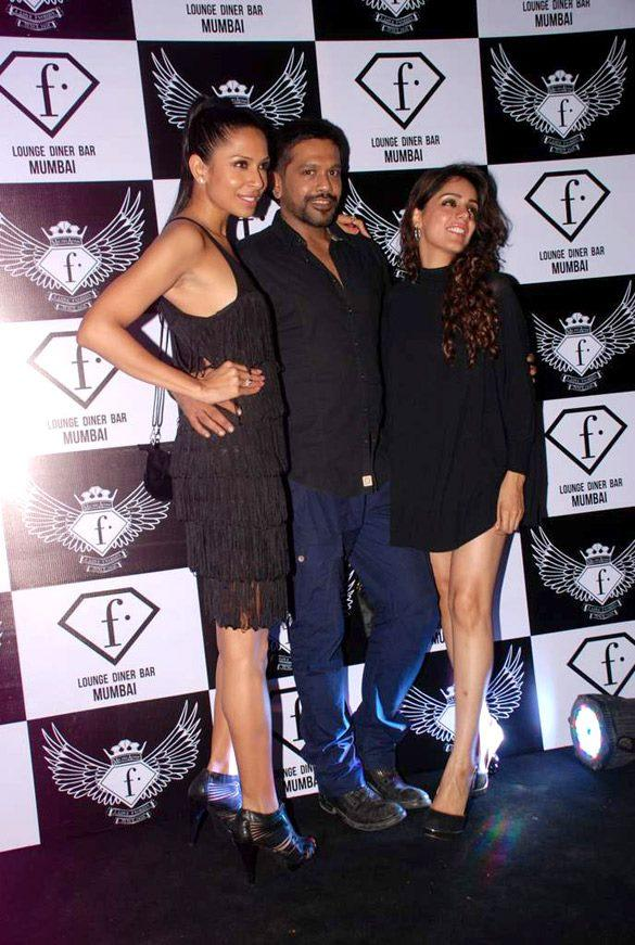 Celebs at F Bar Launch
