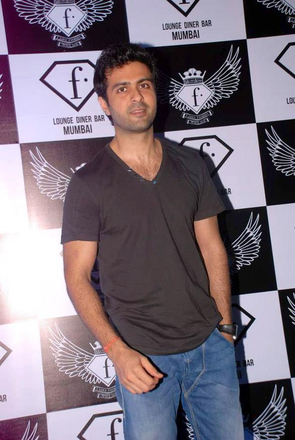 Harman Baweja at F Bar Launch Event