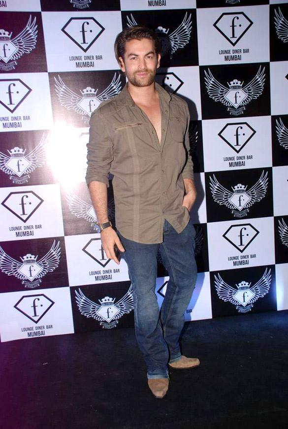 Neil Nitin Mukesh at F Bar Launch Event