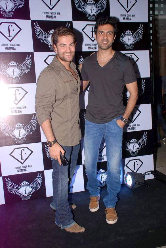 Neil Nitin Mukesh,Harman Baweja at F Bar Launch Event