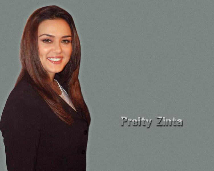 Dazzling Preity Zinta Wallpaper