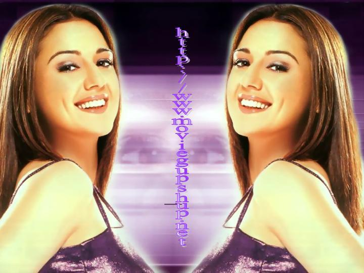 Preity Zinta Gorgeous Smile Wallpaper