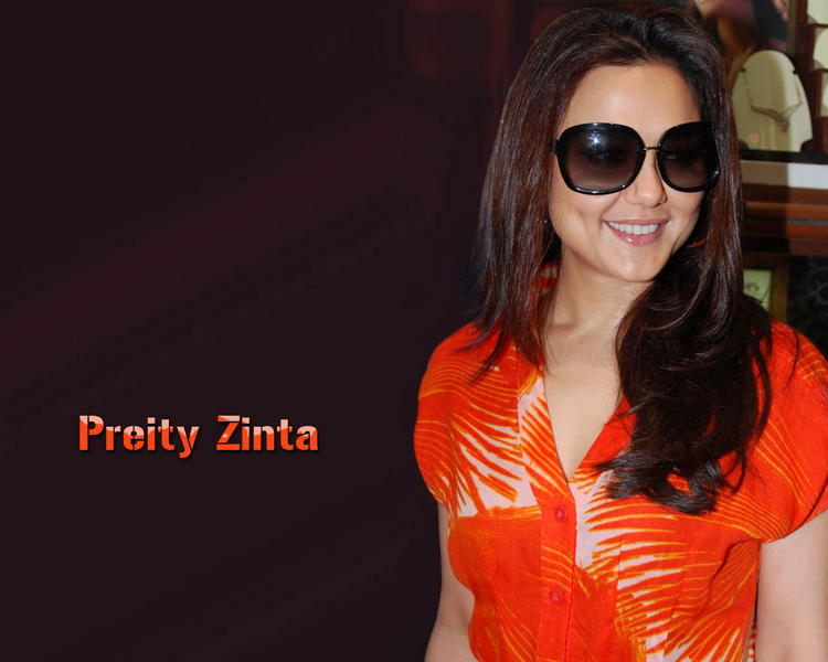 Preity Zinta Hot Stylist Wallpaper