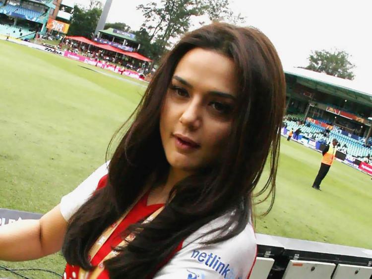 Preity Zinta in IPL Season 2