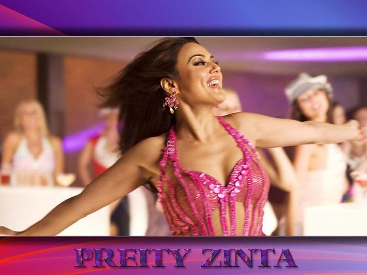 Preity Zinta Sexy Dress Dance Still