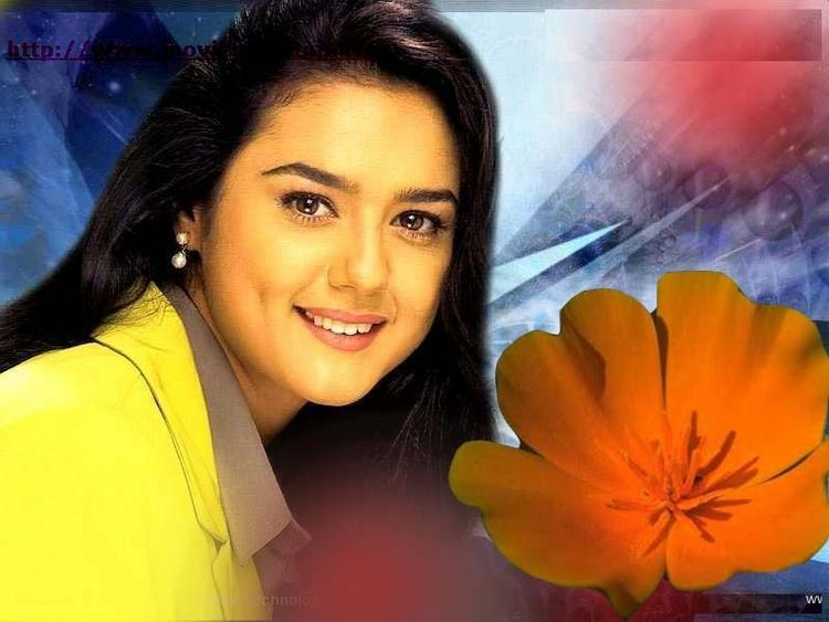 Preity Zinta Sweet Look Wallpaper