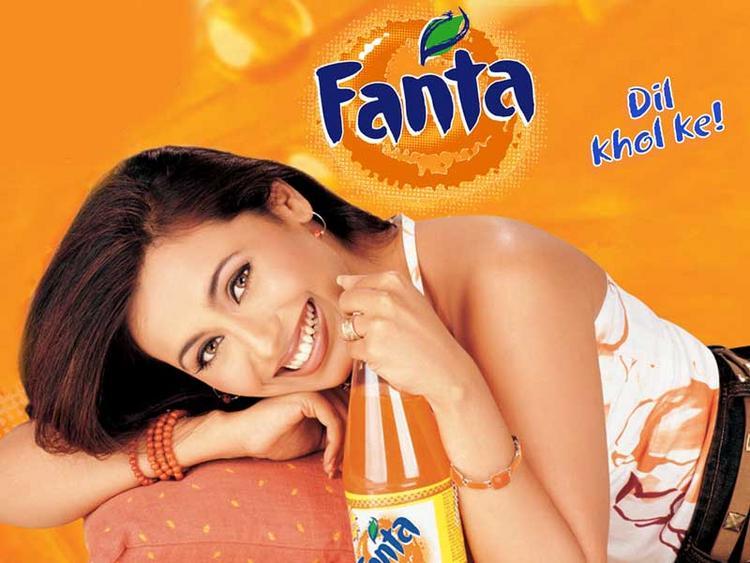 Rani Mukherjee Fanta Add Wallpaper Pic