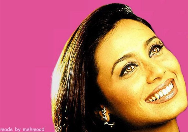 Rani Mukherjee Smilling Face Still