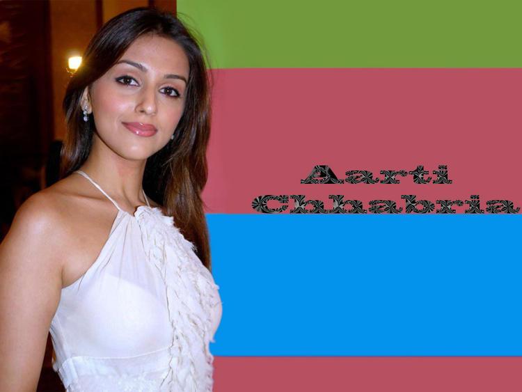 Aarti Chhabria Nice Look Wallpaper In White Dress