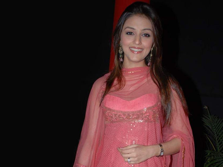 Aarti Chhabria Pink Dress Beauty Still