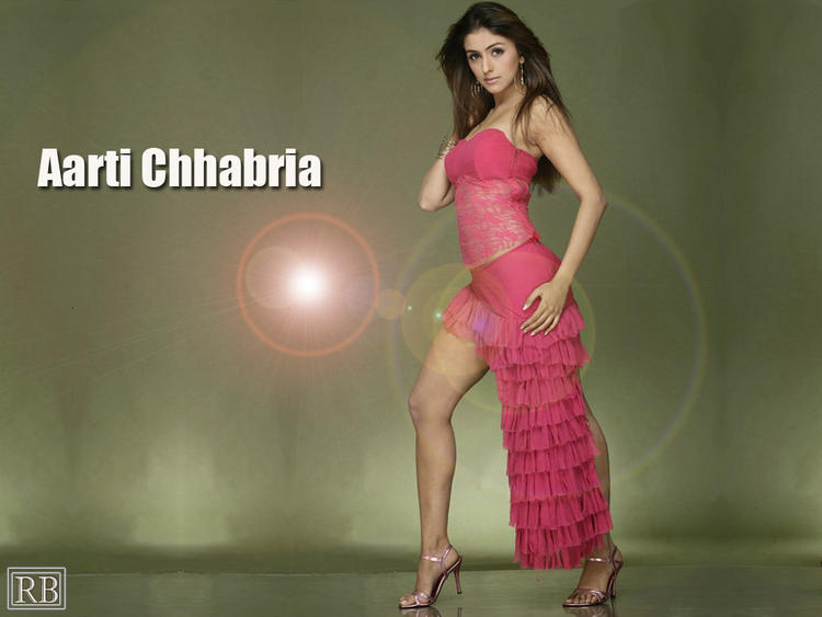 Aarti Chhabria Pink Sexy Dress Wallpaper