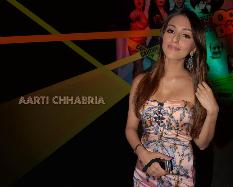 Glamourous Aarti Chhabria Wallpaper