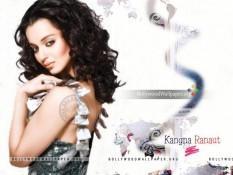 Kangana Ranaut Sweet Fairy Face Look Wallpaper